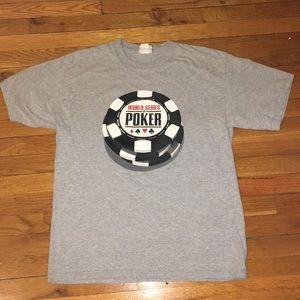 Men's Poker World Series T-Shirt